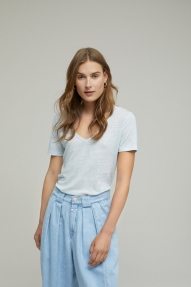 Closed Linen T-Shirt frosted mint