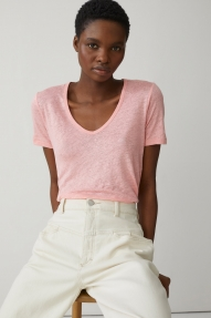 Closed pure lining t-shirt - camellia