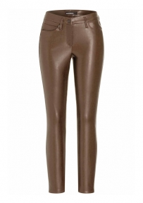 Cambio ray vegan leren broek - burned chestnut