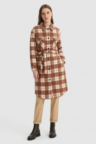 Woolrich Gentry overshirt Woodwork check