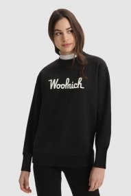 Woolrich Fleece sweatshirt black