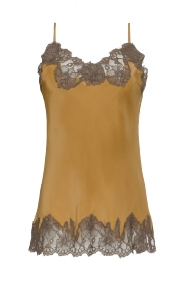 Gold Hawk Top Marilyn Cami Camel