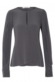 Dorothee Schumacher blouse Moving Emotion grijs