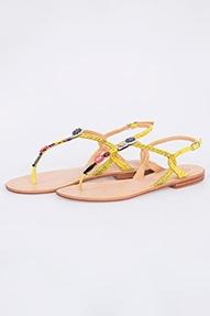 Malìparmi Sandalo Battle Buttons geel