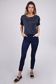 J Brand ALANA High Rise Crop Skinny blauw