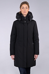 Woolrich W's Bow Bridge Coat zwart