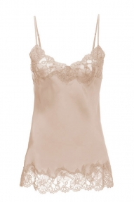 Gold Hawk Top Marilyn Cami beige