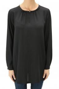 Her Shirt Blouse Violetta zwart