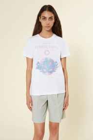 Isabelle Blanche top - BIANCO