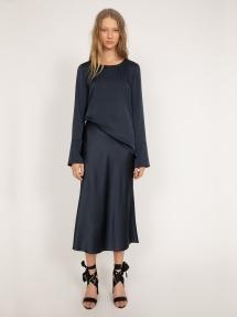 Ahlvar Gallery Kasumi blouse - blue grey