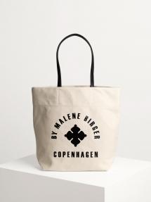 By Malene Birger flora tote bag - soft white