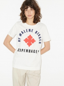By Malene Birger desmos t-shirt - bright red