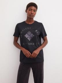 By Malene Birger desmos t-shirt - black