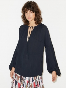 By Malene Birger kyra top - black