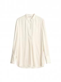 By Malene Birger Mabillon silk shirt - cream