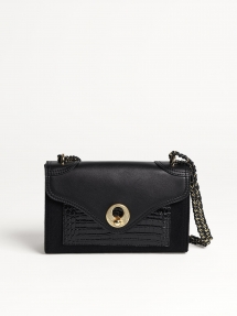 By Malene Birger Fleur schoudertas - black