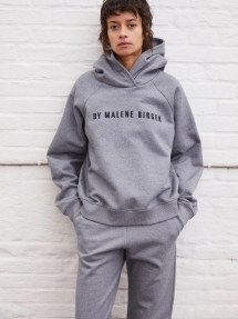 By Malene Birger Tagia hooded sweatshirt - grey melange