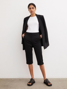 By Malene Birger Lien tailored shorts - black
