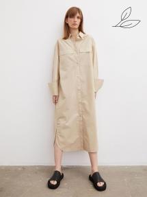 By Malene Birger Einadia organic cotton dress - nature