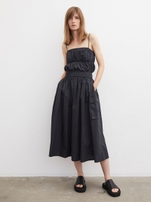 By Malene Birger Miller organic cotton skirt - black