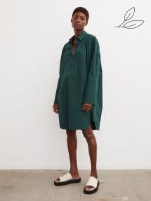 By Malene Birger Nikolana organic cotton dress - pine grove