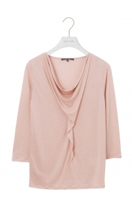 Rene Lezard Top Jersey Zust. 1/2 Arm roze