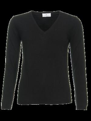 Resort Finest Via v-hals pullover - zwart