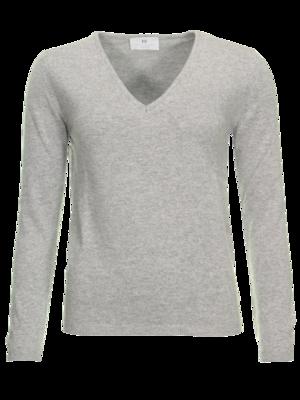 Resort Finest Via v-hals pullover - grijs