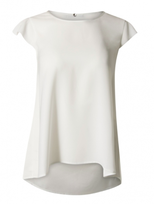 High SWIFT top - white
