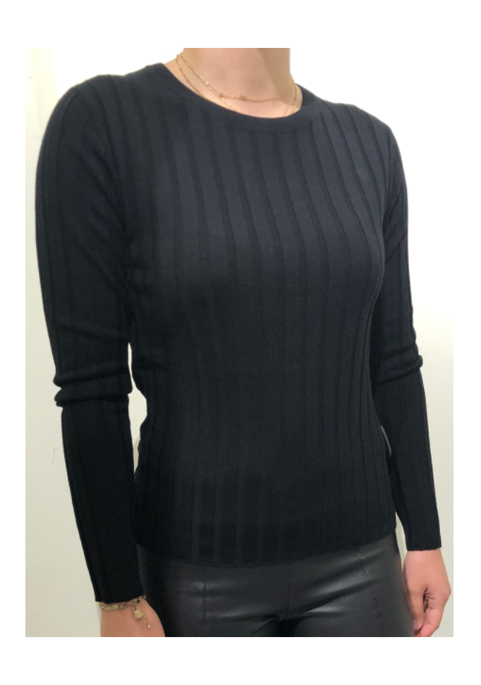 Allude sweater 490 - black