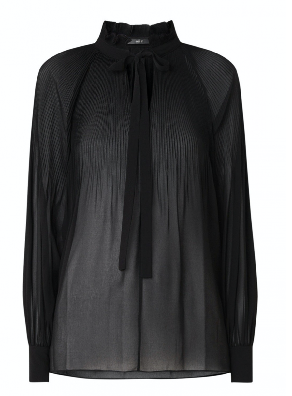 SET Fashion Blouses zwart