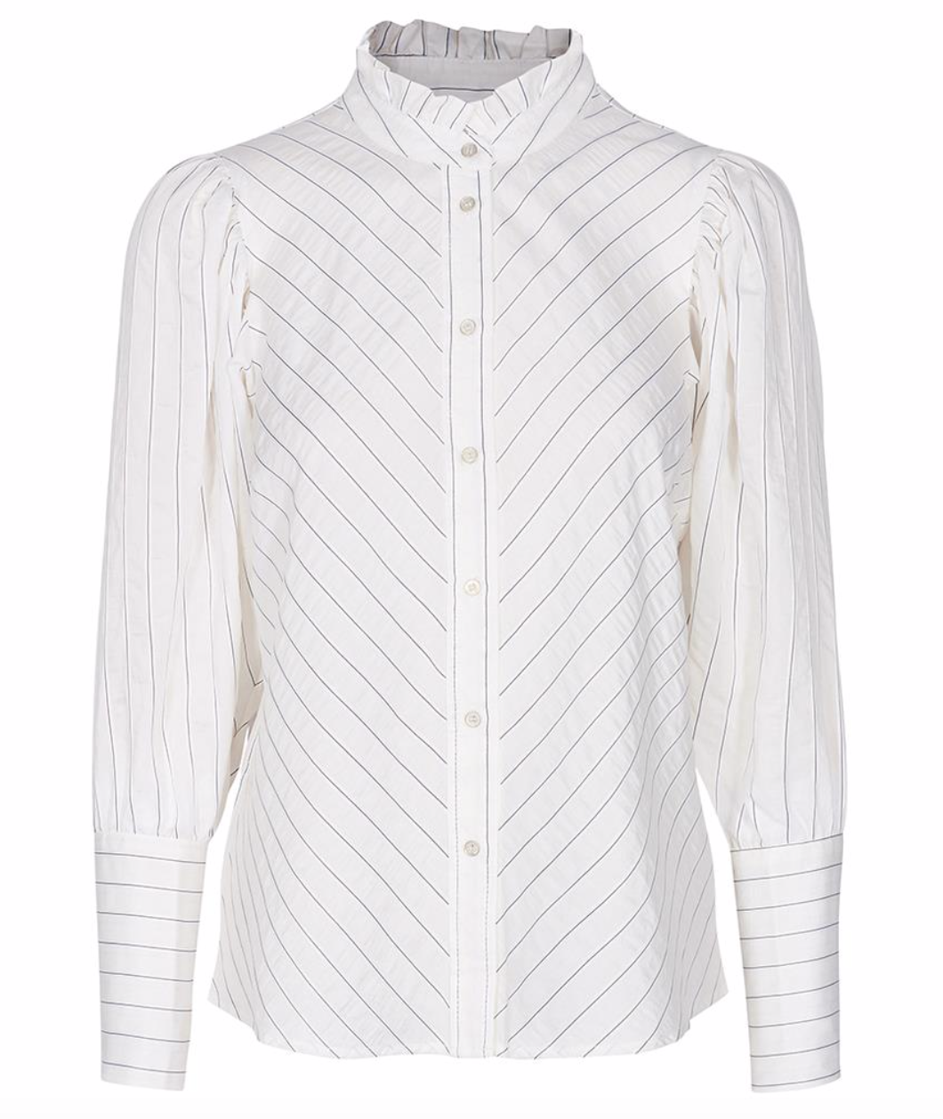 Co'Couture Dina stripe shirt - off white