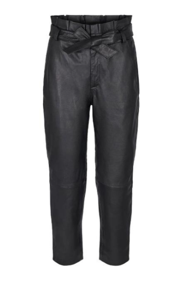 Co'Couture Phoebe leather pants - black
