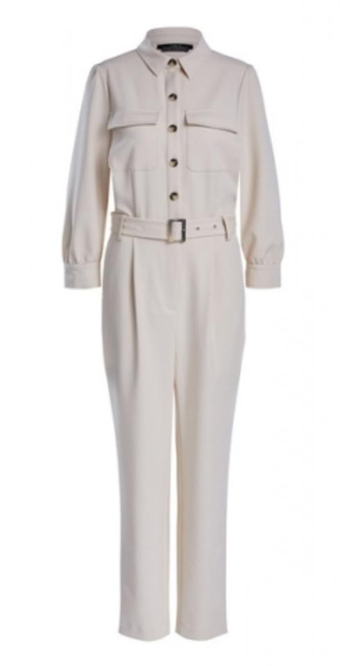 SET Fashion Utility jumpsuit - whitecap gray