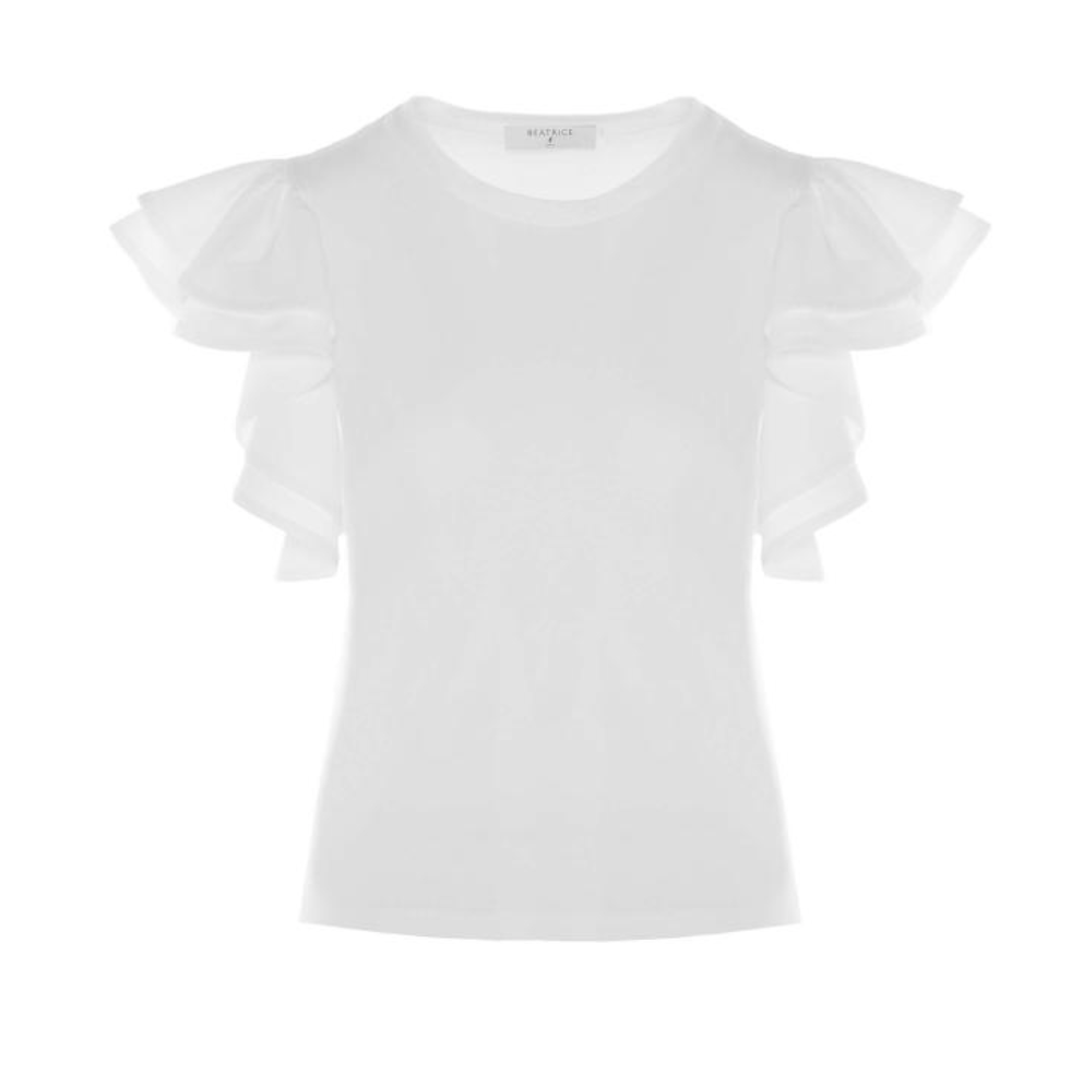 beatrice t-shirt White