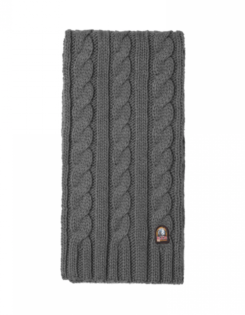 Parajumpers CABLE SCARF - grey