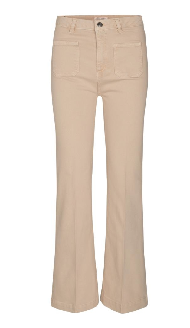 co couture Luella flare jeans Bone