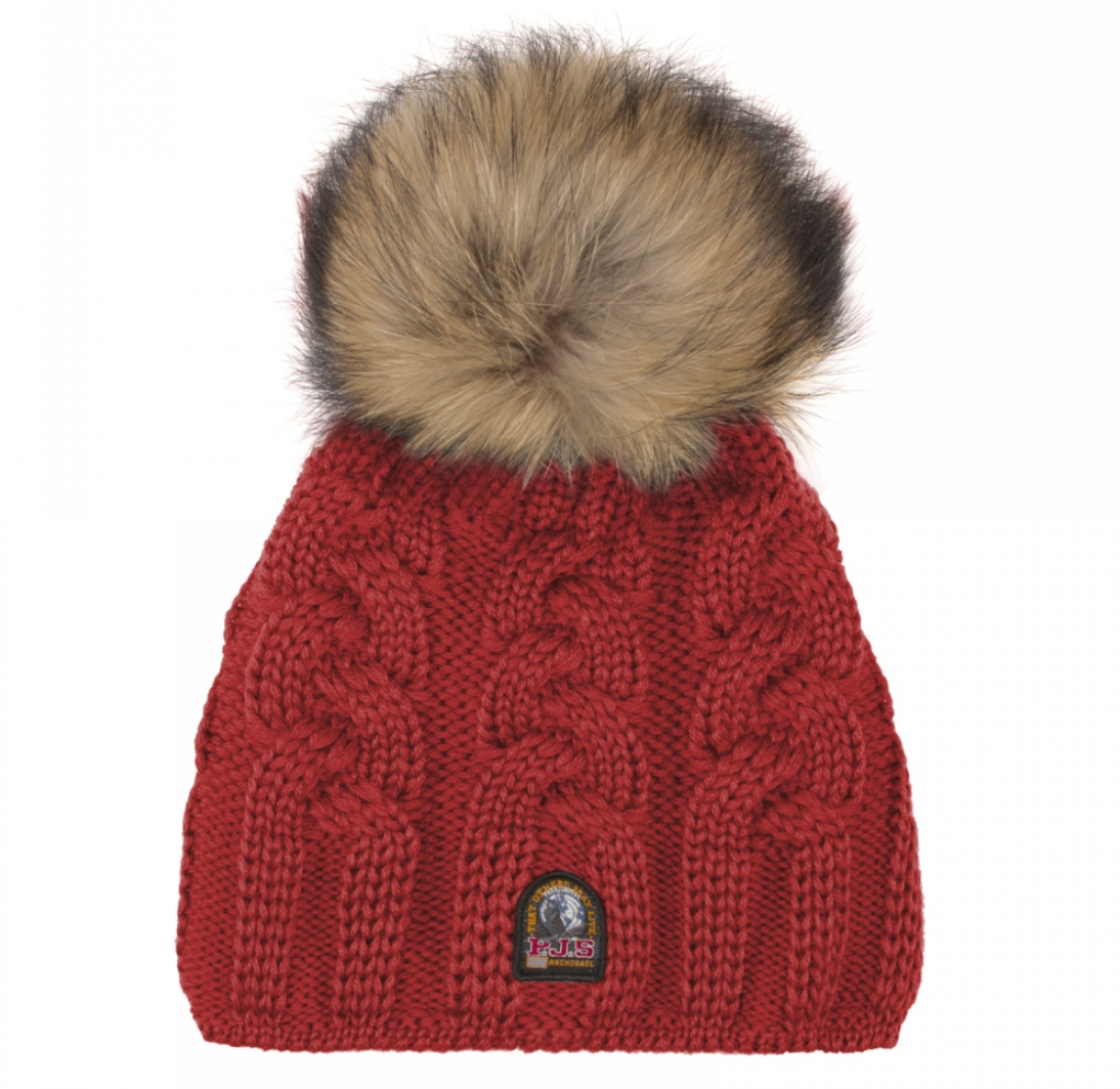 Parajumpers CABLE HAT tomato