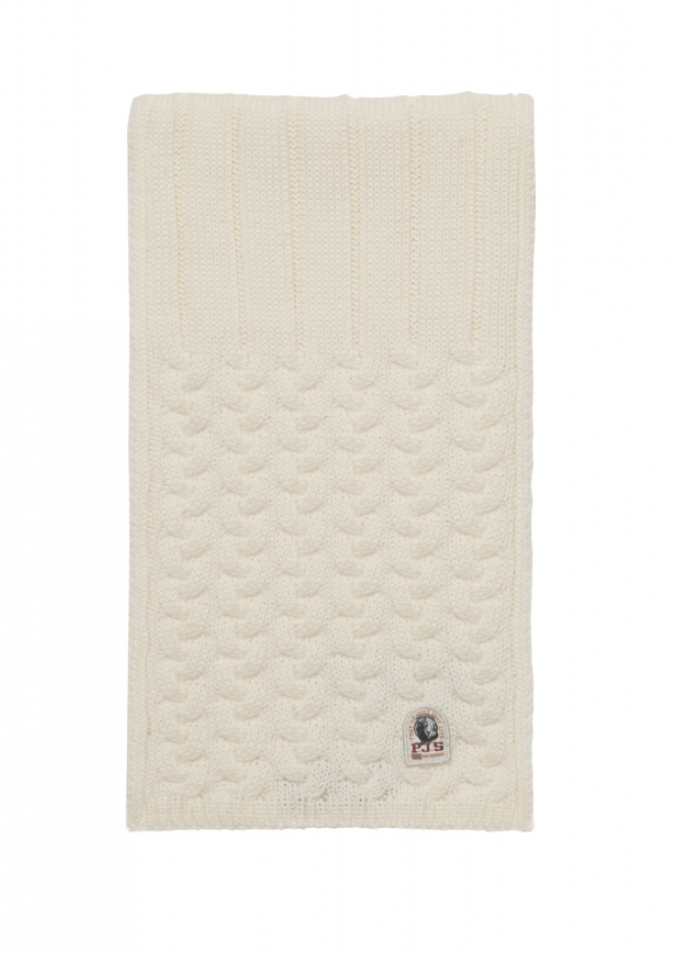 Parajumpers TRICOT SCARF milk