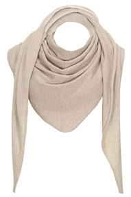 Resort Finest Sella Pointed Scarf beige