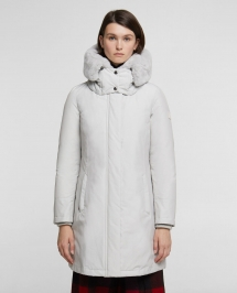 Woolrich W's Bow Bridge Coat Moonstone