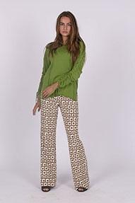 Malìparmi Knitted Sweater groen