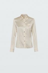 Dorothee Schumacher SHIMMERING SHINE blouse camellia white