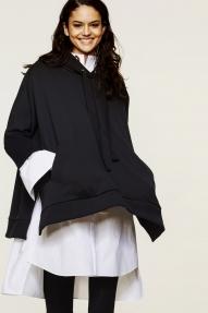 Dorothee Schumacher Cosy Casual hoodie - navy