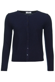 Resort Finest Lucca Short Cardigan donkerblauw