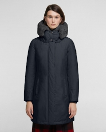 Woolrich Bow Bridge Coat - dark navy