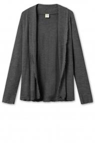 by basics short - cardigan steel grey