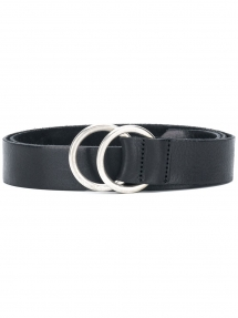 Closed Ring Buckle Belt zwart