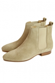 Closed laarzen Pointy Chelsea Boot beige