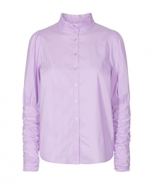 co couture Sandy popline puff shirt - paars